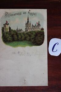 Actif Carte Postale Vue Carte France Souvenir De Kastel-afficher Le Titre D'origine