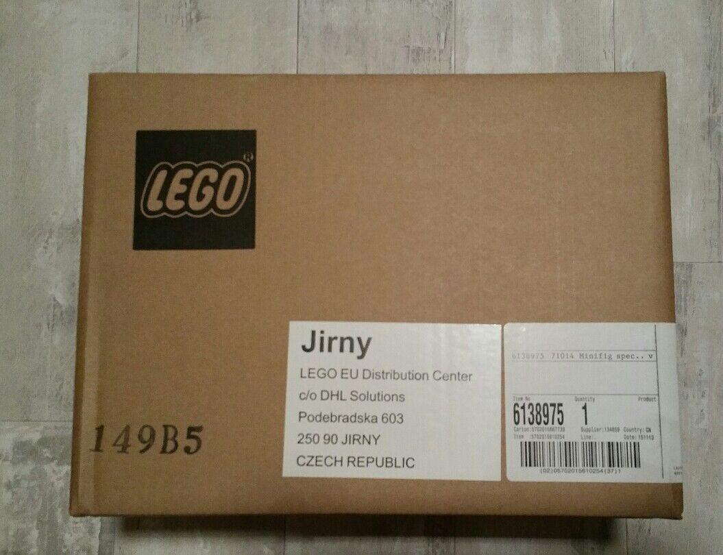 LEGO 71014 - Die Manschaft - komplettes Display - NEU und OVP