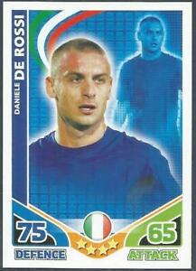 .TOPPS MATCH ATTAX WORLD CUP 2010-ITALY-DANIELE DE ROSSI