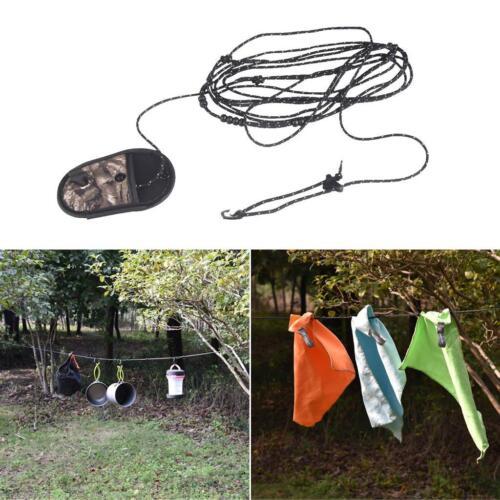 3,2 m Perlen /& 2 Draht Design Outdoor Camping Reisen Wäscheleine