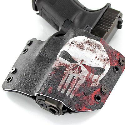 OWB Kydex Holster Punisher Coyote for GLOCK Handguns