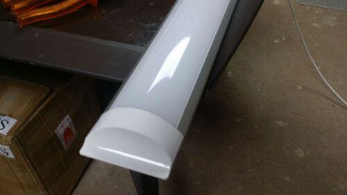 LED BATTEN SLIMLINE TUBE LIGHT 45W X 1500mm HIGH LUMEN PACK 10 LIGHTS