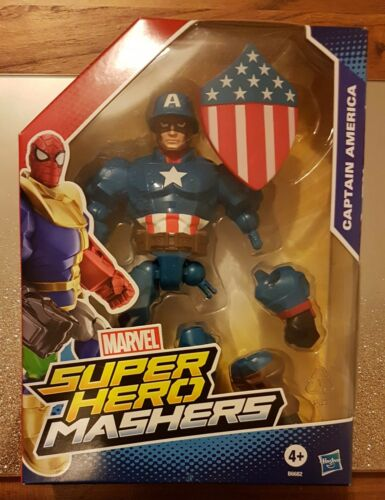 seconda guerra mondiale 2 NUOVO CON SCATOLA Marvel Super Hero Mashers WAVE 11-CAPITAN AMERICA