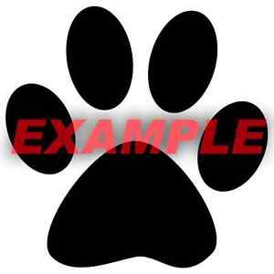 PICK-COLOR-SIZE-Animal-Cat-Dog-Paw-Prints-Vinyl-Decal-Window-Glass-Wall