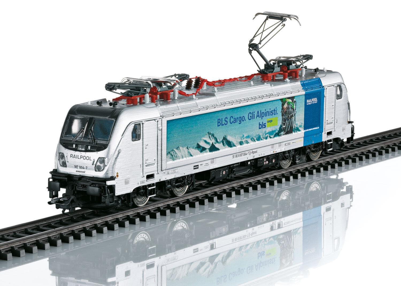 Trix 22279 E-Lok Br 187 BLS Cargo Digitale DCC / Mfx Sound   Nuovo Scatola