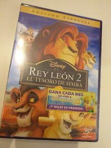 Dvd-el-REY-LEON-2-EDICION-ESPECIAL-PRECINTADO-nuevo