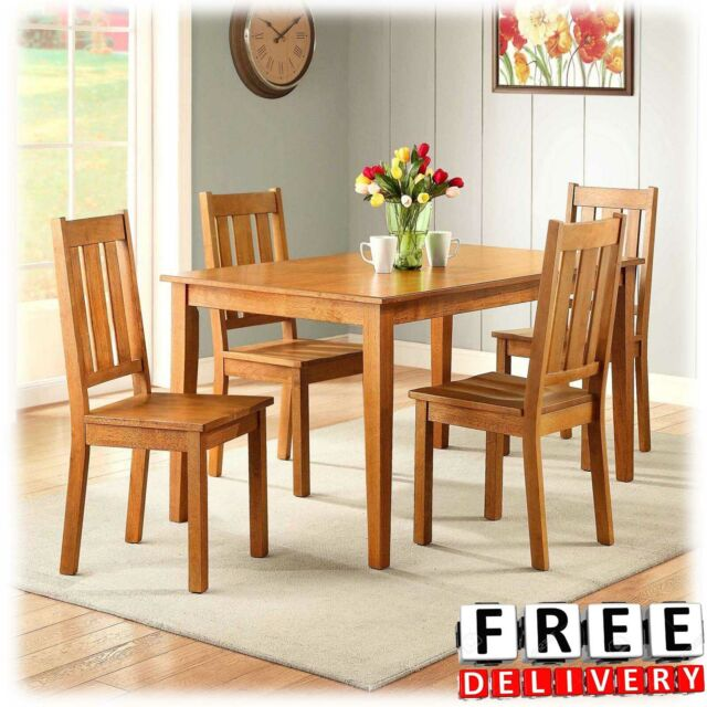 Dining Table Set Wood Kitchen And