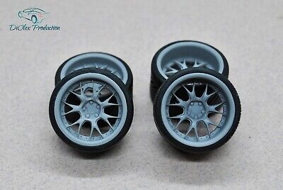Models & Kits Toys & Hobbies Persevering 1/24 Wheels 19 Inch Aimgain G2m With Tires Tamiya Aoshima Hasegawa Easy To Use
