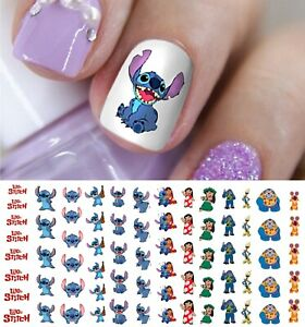Lilo-amp-Stitch-Nail-Art-Decals-Salon-Quality-Disney