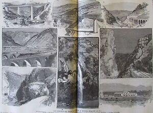 Zeitung-der-Voyages-Nr-522-von-1887-Eisenbahn-De-Fer-Algier-Tunis-Ochse-D
