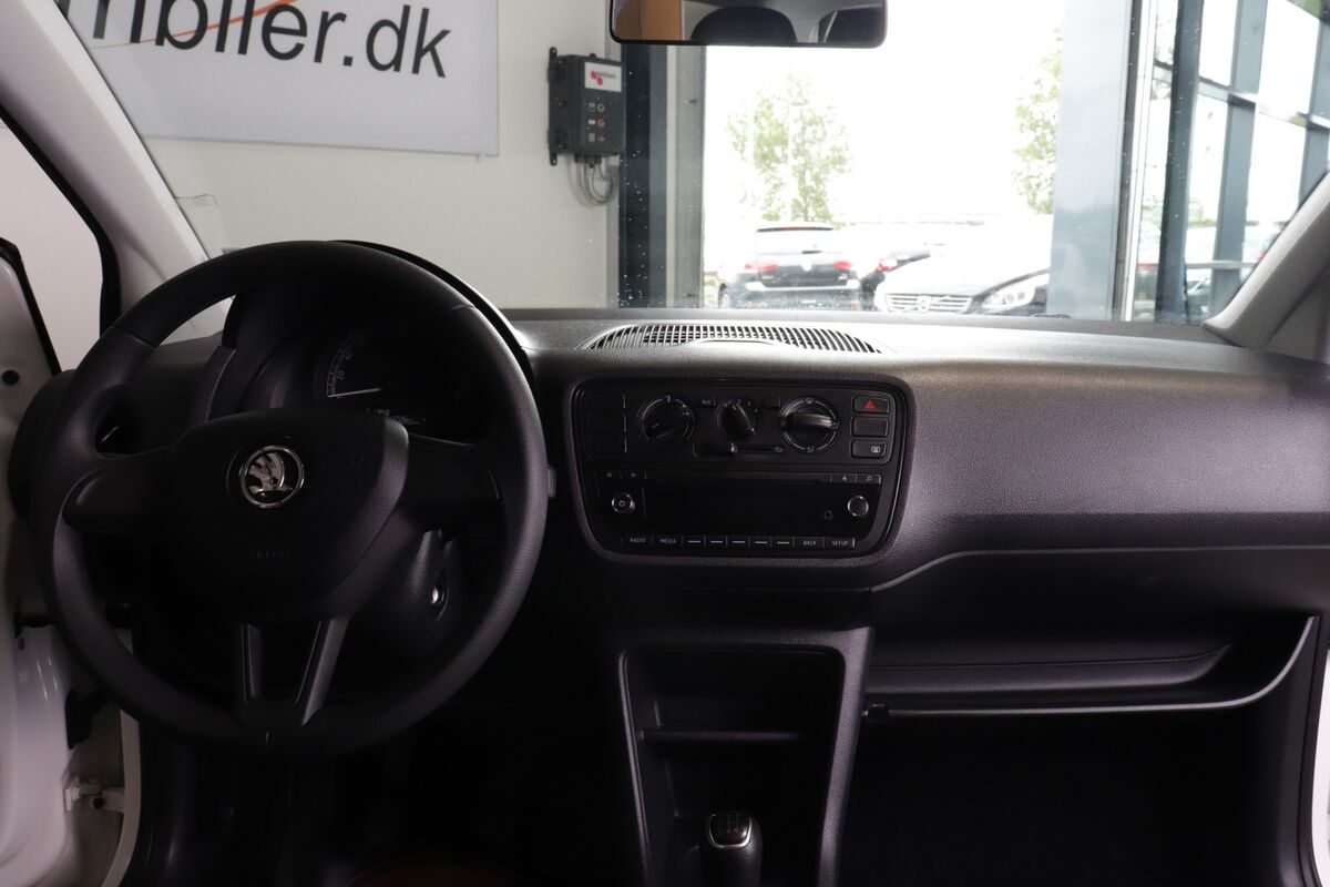 Skoda Citigo 1,0 MPi 60 Active