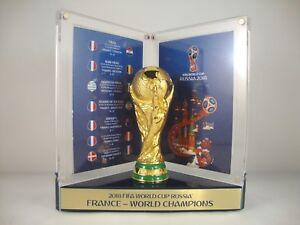 Weltmeisterschaft WM 3D Pin Pokal Frankreich France Badge Trophy World Champion