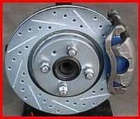 92-96 Honda Prelude F+R Drilled Slotted Brake Rotors