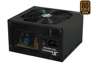 SeaSonic S12II 430B 430W ATX12V / EPS12V 80 PLUS BRONZE Certified Active PFC Pow