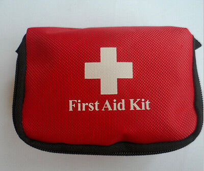 Emergency Medical Bag First Aid Kit Pack Travel Survival Treatment Rescue UK2 JX