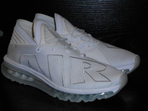 Hommes Nike Size 5 Évasé 7 Blanc Course Air Série Baskets Max IwwqUCg