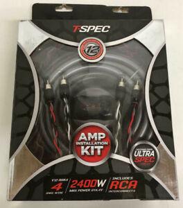T-Spec-V12-RAK4-4AWG-2400W-AMP-KIT-WITH-RCA-V12-SERIES