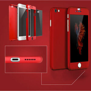 Ultra-Thin-360-Hard-Hybrid-Case-Cover-Tempered-Glass-For-iPhone-6S-7-7-Plus