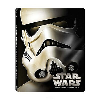 Star Wars V The Empire Strikes Back (Blu-ray Disc, 2015, Steelbook) NEW