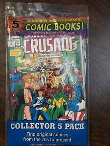Collectors 5 pack Marvel and DC only 70s To Present. Mystery Pack