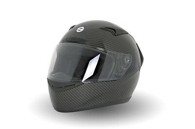 Sparco Club X1 ECE Approved Full Face Race//Racing//Track Day White Helmet