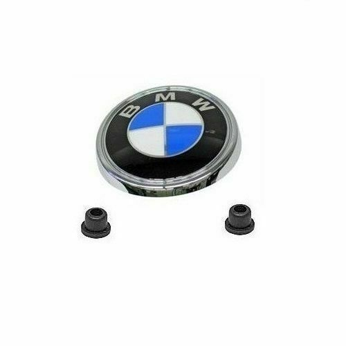 Hatch Shock Mounting Grommet: BMW E83 X3 REAR HATCH EMBLEM W/ MOUNTING GROMMETS GENUINE