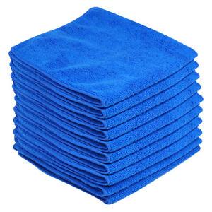 10 X Large De Nettoyage En Microfibre Auto Voiture Détaillant Soft Chiffon Lavage Serviette Duster-afficher Le Titre D'origine