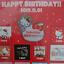 New Hello kitty 45Anniversary Limited Pin badge japan sanrio kawaii toy anime