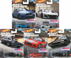 HOT-WHEELS-2020-PREMIUM-FAST-amp-FURIOUS-FULL-FORCE-GBW75-956H-SET-OF-5-PRE-SELL