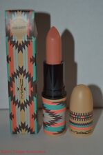 MAC PURE VANITY Soft Peachy Nude Lustre Lipstick NIB Vibe Tribe Collection FS