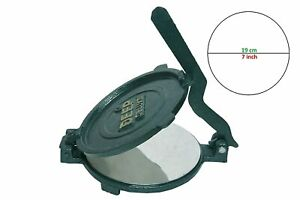 Cast Iron Tortilla Press 7 Cast Iron Flour Corn Tortilla Press Maker Tortilla Ebay