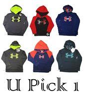 Under Armour Hoodie Boys Big Ua Logo Jacket Coat Athletic Sport Coat Youth Warm