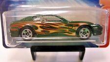 2004 Hot Wheels Ferrari Heat Ferrari 456M in Green w/ Flames 5 Spoke 3/5