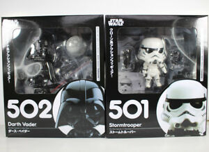 Nendoroid-Star-Wars-Stormtrooper-Darth-Vader-PVC-Figure-Collectible-Model-Toy