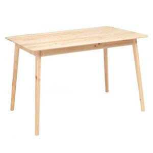 Dining-Table-Rectangular-Desk-Kitchen-Dining-Room-Furniture-Wood-Natural