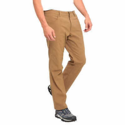 Eddie Bauer Men/'s Lined Pant Fleece Water Resistant Stretch Fabric KHAKI 38X30