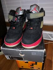best sneakers 13980 e4abd item 5 Nike Air Jordan Air Force One Fusion Black Red Mens Size 10 318608  062 -Nike Air Jordan Air Force One Fusion Black Red Mens Size 10 318608 062