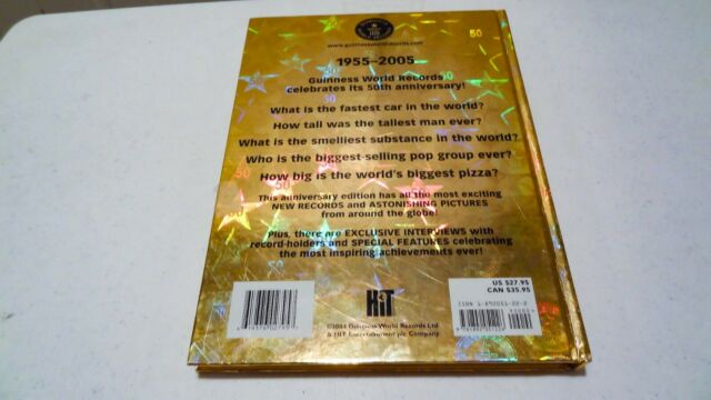 Special 50th Anniversary Edition Guinness World Records 2005