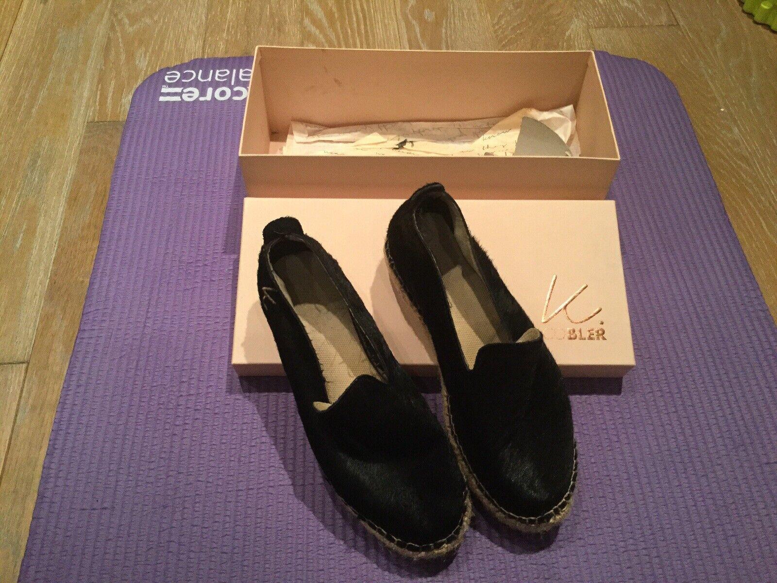 Swedish K.cobler Leather Espadrilles Size 4 (37)