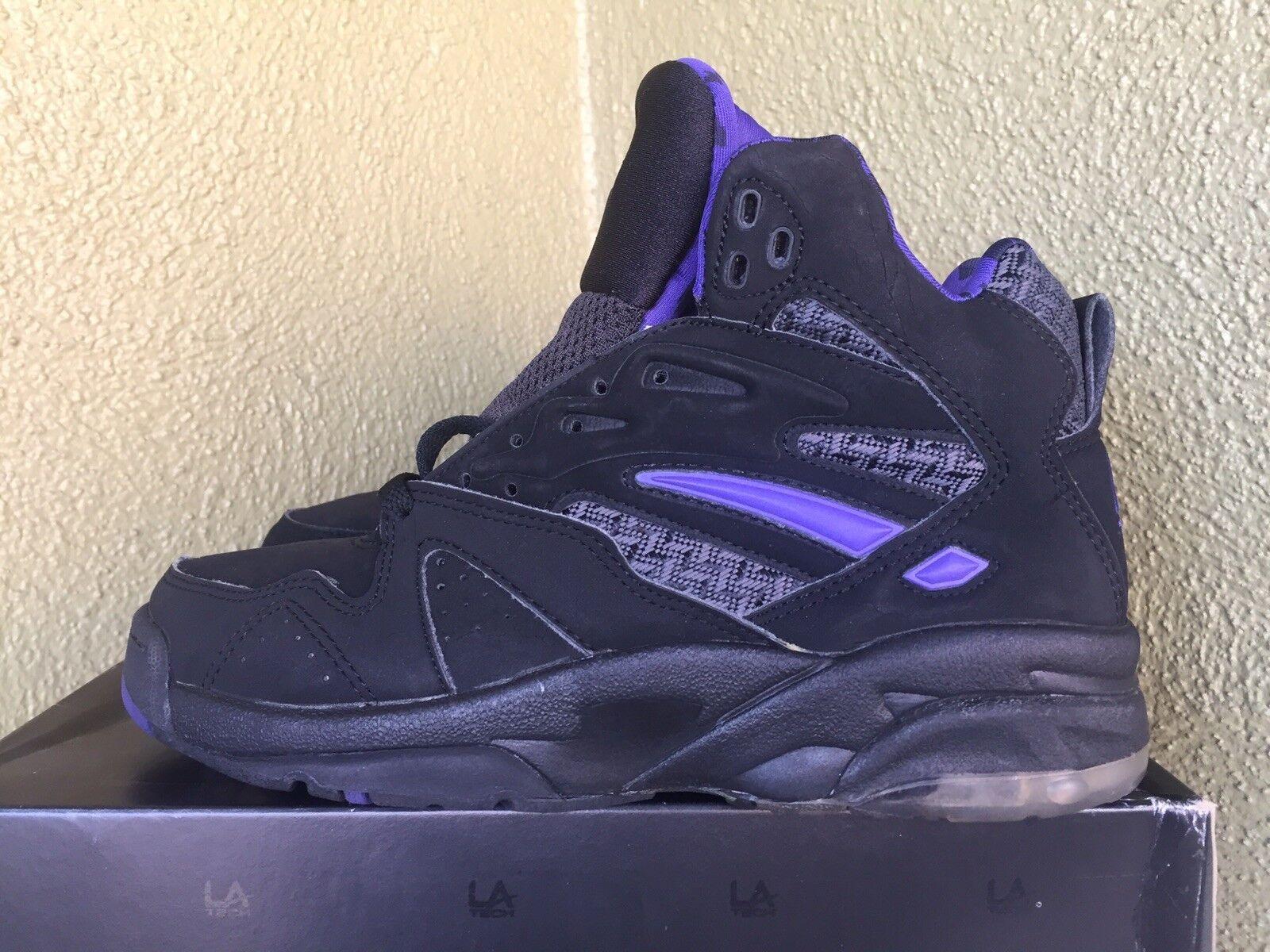 Vintage 1993 LA TECH Basketball scarpe BY LA LA LA GEAR Sz. 7.5 DS LIGHT UPS Make Offer ec632a