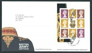 29138-UK-Great-Britain-2007-FDC-Definitive-8v
