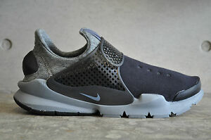 finest selection 05175 68b2a Image is loading Nike-Sock-Dart-Tech-Fleece-Black-Black-Cool-