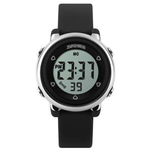 KIDS-amp-WOMENS-WATERPROOF-WATCH-Digital-Sports-Water-Resistant-Ladies-Boys-Girls