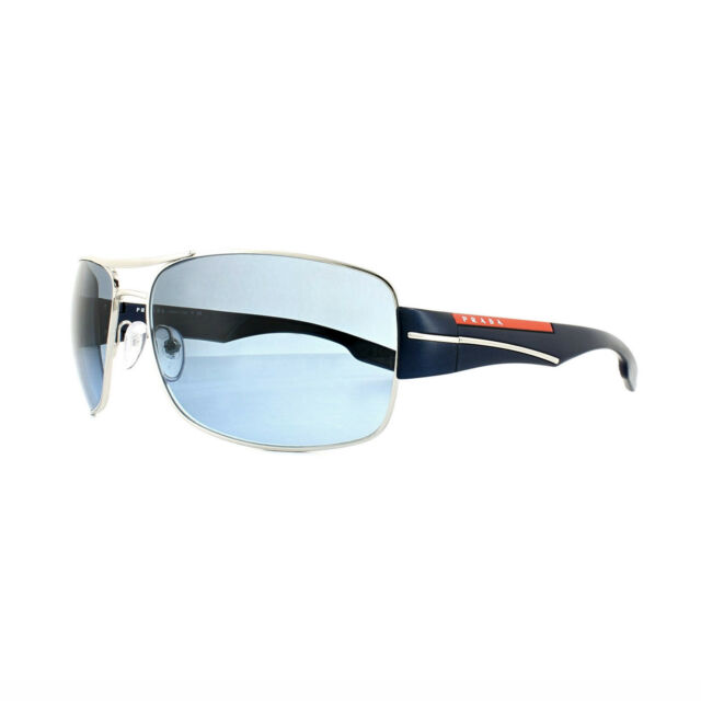 73261c5ddb931 PRADA Sport Sunglasses 53ns 1bc5i1 Silver Blue Gradient for sale ...