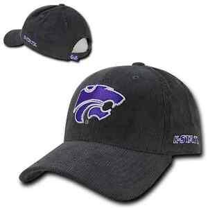 c069bd13fb4 Details about Kansas K State University KSU Wildcats Adjustable Corduroy Baseball  Ball Cap Hat