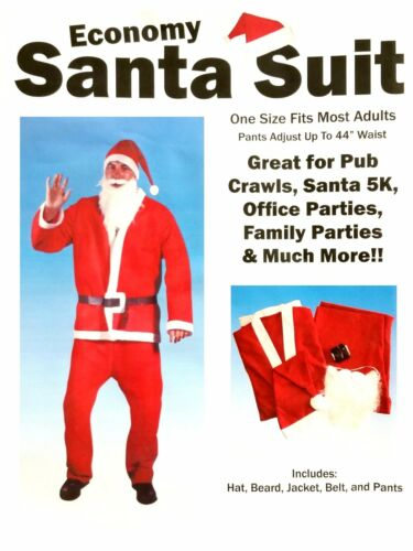 Santa Suit Christmas Holiday Pub Crawl Party