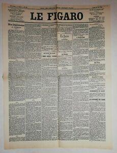 N884-La-Une-Du-Journal-Le-Figaro-25-juin-1900-Pekin-echos-Hors-Paris
