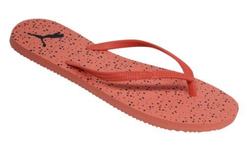 Puma First Slip On Dotted Light Pink Womens Flip Flops 361698 02 EE155