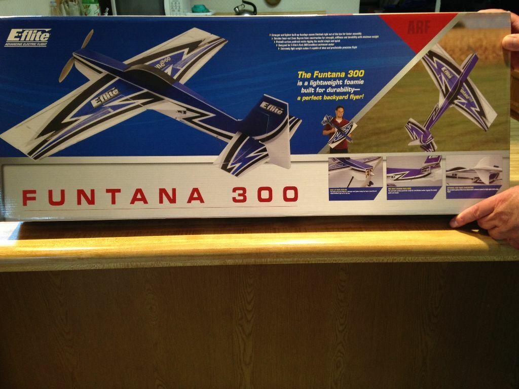 nuovo R C E-Flite divertimentotana  300 Aerobatic ARF Kit  acquisto limitato