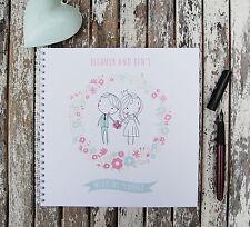 Wedding Planner Bride & Groom Personalised Notebook /Journal Various Sizes